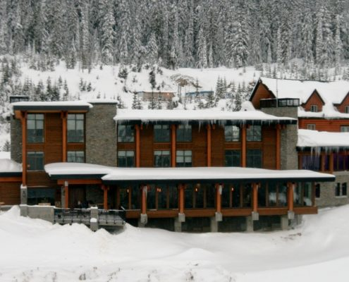 Mica Heli Ski Lodge